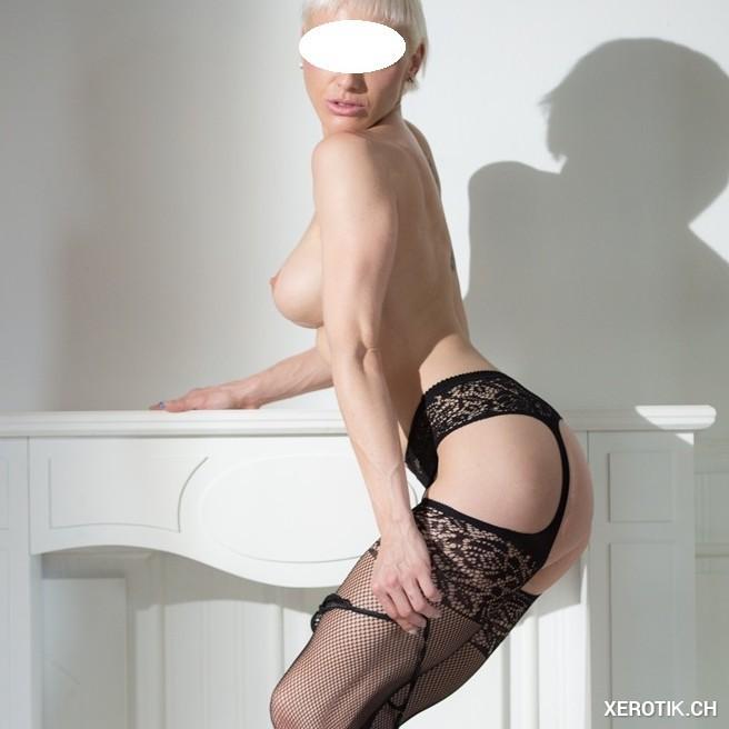 Blonder Sexengel